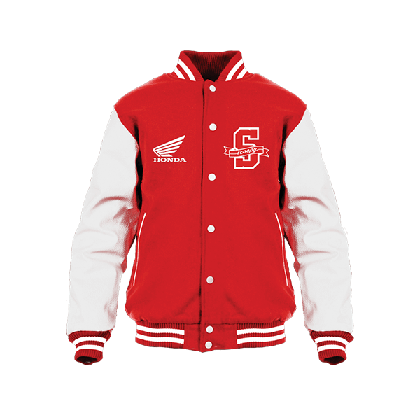 Scoopy V Jacket Red